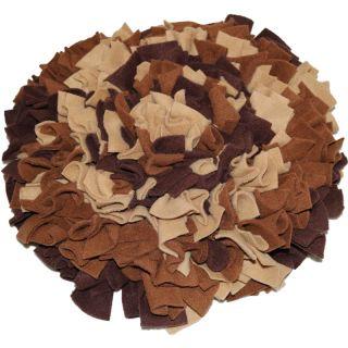 Schnüffelteppich Brauner Bär Größe M (ca. 45 x 45 cm)