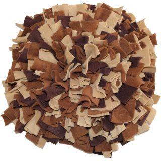 Schnüffelteppich Brauner Bär Größe L (ca. 56 x 56 cm)